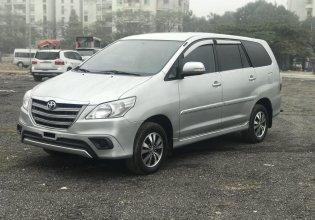 Cần bán lại xe Toyota Innova E sản xuất năm 2015, màu bạc giá 475 triệu tại Hà Nội