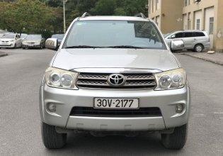 Many Car cần bán lại Toyota Fortuner 2.7V năm 2009, màu bạc giá 415 triệu tại Hà Nội