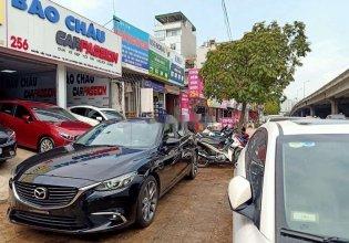 Cần bán lại xe Mazda 6 2018, màu đen giá 799 triệu tại Hà Nội