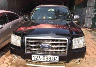Cần bán gấp Ford Everest đời 2009, màu đen giá 340 triệu tại Lạng Sơn