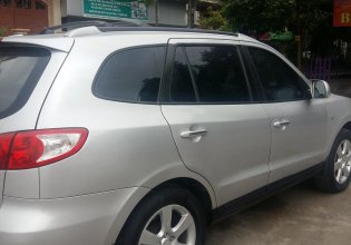Bán Hyundai Santa Fe năm 2008, màu bạc, nhập khẩu giá 450 triệu tại Quảng Ninh