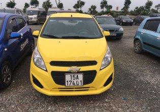 Bán Chevrolet Spark đời 2015, màu vàng, số sàn, giá chỉ 169 triệu giá 169 triệu tại Hải Phòng