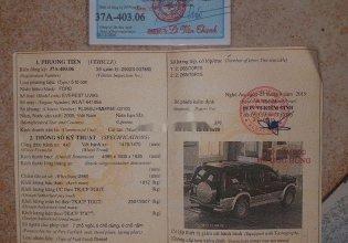 Bán xe Ford Everest đời 2005, giá 225tr giá 225 triệu tại Hải Phòng