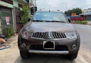 Bán xe Mitsubishi Pajero Sport đời 2013, màu xám giá 600 triệu tại Tp.HCM
