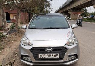 Bán nhanh Hyundai Grand i10 1.2 MT năm sản xuất 2017, màu bạc giá 340 triệu tại Hà Nội