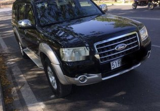 Cần bán Ford Everest AT đời 2008, màu đen, nhập khẩu ít sử dụng, giá 320tr giá 320 triệu tại Tp.HCM