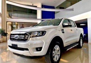 Bán Ford Ranger XLT Limited sản xuất năm 2020, màu trắng, giá cạnh tranh giá 790 triệu tại Tp.HCM