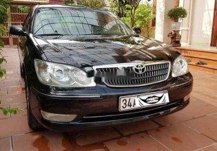 Cần bán xe Toyota Camry sản xuất năm 2005, màu đen, 300tr giá 300 triệu tại Hải Dương