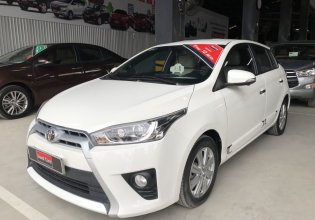 Bán Toyota Yaris 1.3 G năm sản xuất 2016, màu trắng, nhập khẩu giá 580 triệu tại Tp.HCM