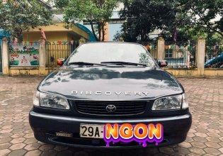 Bán Toyota Corolla đời 2001, màu đen chính chủ giá 98 triệu tại Hà Nội