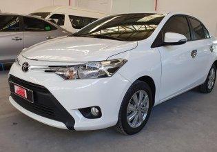 Bán ô tô Toyota Vios đời 2018, màu trắng, số sàn, xe cũ chính hãng giá 470 triệu tại Tp.HCM