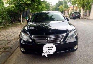 Cần bán lại xe Lexus LS460L năm 2007, màu đen, xe nhập giá 1 tỷ 50 tr tại Hà Nội