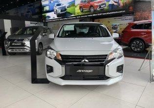 Mitsubishi Quảng Nam bán xe Mitsubishi Attrage 1.2 CVT đời 2020, màu trắng giá 460 triệu tại Quảng Trị