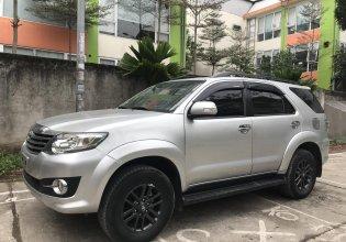 Bán Toyota Fortuner 2.7V năm 2015, màu bạc, hỗ trợ vay ngân hàng giá 669 triệu tại Hà Nội