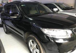 Bán Hyundai Santa Fe SLX năm sản xuất 2008, màu đen, nhập khẩu giá 485 triệu tại Hà Nội