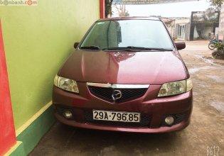 Cần bán Mazda Premacy sản xuất 2003, màu đỏ giá 160 triệu tại Thanh Hóa
