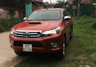 Cần bán xe Toyota Hilux 3.0GAT đời 2015, màu đỏ, nhập khẩu, giá chỉ 605 triệu giá 605 triệu tại Hà Nội