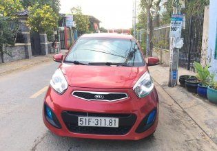 Cần bán Kia Morning 2014, màu đỏ, số tự động  giá 266 triệu tại Tp.HCM