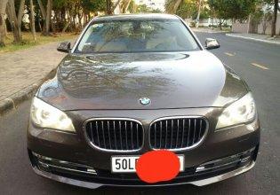 Cần bán gấp BMW 7 Series 730Li 2014, màu nâu, nhập khẩu nguyên chiếc giá 1 tỷ 835 tr tại Tp.HCM