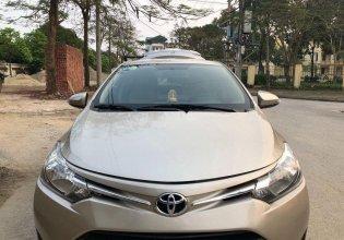 Cần bán lại xe Toyota Vios sản xuất 2017, màu vàng giá 448 triệu tại Hưng Yên