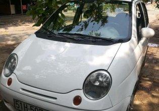 Cần bán Daewoo Matiz 2003, màu trắng, số sàn giá 58 triệu tại Tp.HCM