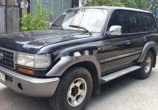 Bán xe Toyota Land Cruiser sản xuất 1991, màu đen, nhập khẩu giá 165 triệu tại Tp.HCM