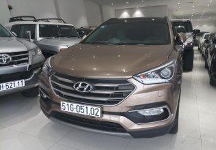 Bán Hyundai Santa Fe sản xuất năm 2018, màu vàng, máy dầu  giá 1 tỷ 20 tr tại Tp.HCM