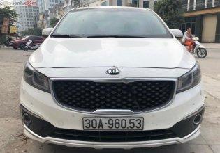 Bán Kia Sedona 3.3L GATH đời 2015, màu trắng, giá 790tr giá 790 triệu tại Hà Nội