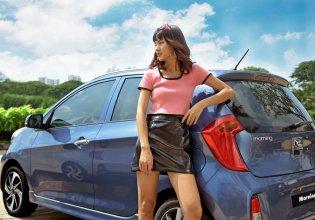 Cần bán xe Kia Morning Deluxe đời 2020, màu xanh lam giá 355 triệu tại Tp.HCM