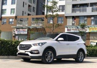 Bán xe Hyundai Santa Fe đời 2017, màu trắng, số tự động giá 965 triệu tại Tp.HCM