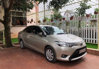 Bán Toyota Vios đời 2015, màu vàng cát, số sàn giá 360 triệu tại Hà Nội