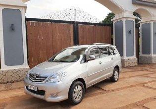 Cần bán xe Toyota Innova sản xuất 2010, màu bạc xe gia đình giá 349 triệu tại Bình Dương