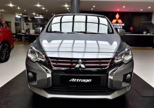 Bán Mitsubishi Attrage đời 2020, màu bạc, nhập khẩu giá 460 triệu tại Nghệ An