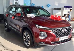 Hyundai Santa Fe, khuyến mãi 50% phí trước bạ, bảo hiểm thân xe giá 1 tỷ 157 tr tại Tp.HCM