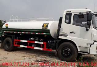 Xe bồn chở nước 9 khối DongFeng nhập khẩu, giá xe bồn chở nước 9 khối DongFeng nhập khẩu giá 690 triệu tại Bình Thuận