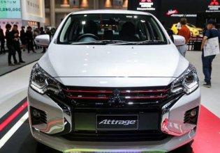 Cần bán xe Mitsubishi Attrage sản xuất 2020, màu trắng, nhập khẩu, giá 460tr giá 460 triệu tại Nghệ An