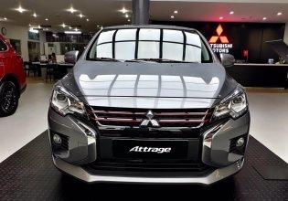Bán xe Mitsubishi Attrage đời 2020, màu xám, nhập khẩu nguyên chiếc giá 460 triệu tại Nghệ An