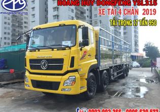 Xe tải Dongfeng 17T9 Hoàng Huy nhập khẩu 2019 động cơ Euro 5 giá 1 tỷ 480 tr tại Bình Dương