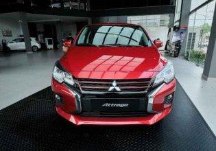 Bán Mitsubishi Attrage CVT năm 2020, màu đỏ, nhập khẩu nguyên chiếc, giá tốt giá 460 triệu tại Nghệ An