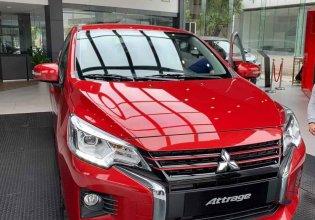 Bán ô tô Mitsubishi Attrage CVT sản xuất 2020, màu đỏ, xe nhập giá 460 triệu tại Nghệ An
