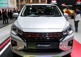 Cần bán Mitsubishi Attrage CVT đời 2020, màu trắng, nhập khẩu chính hãng giá 460 triệu tại Nghệ An
