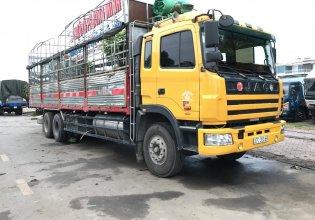 Bán xe tải JAC 3 chân 2013 xe 3 giò JAC tổng tải 24 tấn đã hoán cải hạ tải, có chiều cao xe tải 3 chân JAC giá 600 triệu tại Hải Dương