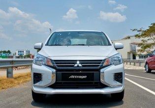Cần bán xe Mitsubishi Attrage đời 2020, màu trắng, nhập khẩu, 375 triệu giá 375 triệu tại Nghệ An