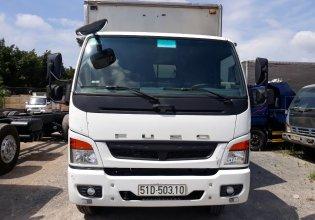 Cần bán xe tải Fuso 6.8 tấn thùng dài 5m9 thùng kín, trả góp giá 590 triệu tại Tp.HCM