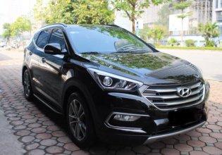 Cần bán xe Hyundai Santa Fe năm 2017, màu đen, đẹp như mới, giá 860tr giá 860 triệu tại Tp.HCM