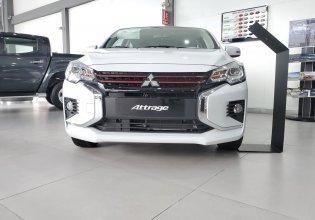 Cần bán xe Mitsubishi Attrage CVT đời 2020, màu trắng, nhập khẩu thái giá 460 triệu tại Tp.HCM