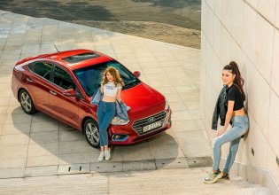 Bán ô tô Hyundai Accent đời 2020, màu trắng, 545tr tại Hyundai Tây Ninh giá 545 triệu tại Tây Ninh