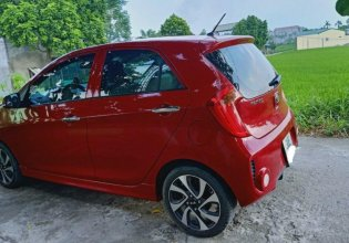Cần bán lại xe Kia Morning Si đời 2017, màu đỏ, số sàn giá 275 triệu tại Hà Nội