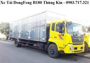 Xe tải DongFeng 7T5 thùng kín. Xe tải DongFeng B180 thùng kín tải 7T5 giá tốt giá 955 triệu tại Tp.HCM