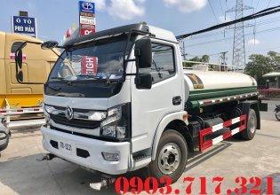 Bán xe bồn 5 khối chở nước DongFeng. Xe bồn chở nước 5 khối giá 560 triệu tại Bình Dương